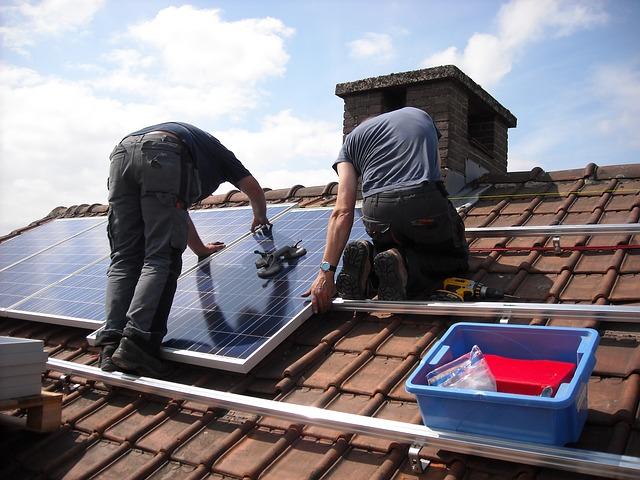 Solar panelen anlegen