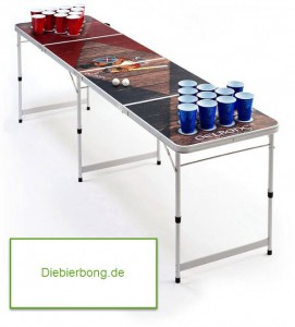 Bierbong Tisch